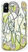 Abstract Drawing Forty-four IPhone Case