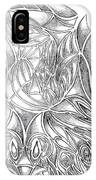 Abstract Drawing Owl Hands Roses IPhone Case