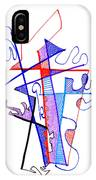 Abstract Drawing Sixty-nine IPhone Case