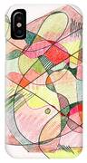 Abstract Drawing Twenty IPhone Case
