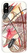 Abstract Drawing Twenty-one IPhone Case