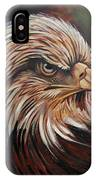Abstract Eagle Painting IPhone Case