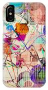Abstract Expressionism IPhone Case