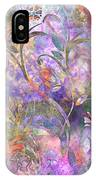 Abstract Floral Designe  IPhone Case