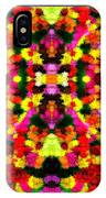 Abstract Floral Duvet IPhone Case