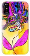 Abstract Flower 2 IPhone Case