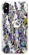 Abstract Flowers A  IPhone Case