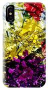 Abstract Flowers Messy Painting IPhone Case