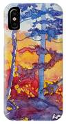 Abstract Forest No. 1 IPhone Case