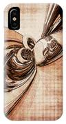 Abstract Form 2 IPhone Case