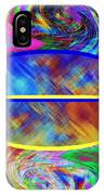 Abstract Fusion 173 IPhone Case