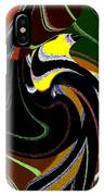 Abstract Fusion 183 IPhone Case