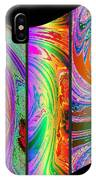 Abstract Fusion 184 IPhone Case