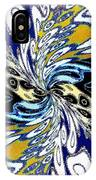 Abstract Fusion 198 IPhone Case