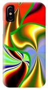 Abstract Fusion 200 IPhone Case