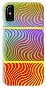 Abstract Fusion 205 IPhone Case