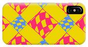 Abstract Geometric Colorful Seamless IPhone X Case