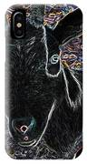 Abstract Goat IPhone Case