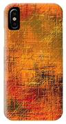 Abstract Golden Earth Tones Abstract IPhone Case