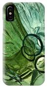 Abstract In Green IPhone Case