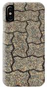 Abstract Interlocking Pavement IPhone Case