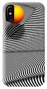 Abstract - Lines - That's A Moire IPhone Case