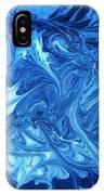 Abstract - Nail Polish - Ocean Deep IPhone Case