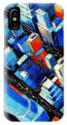 Abstract New York Sky View IPhone Case