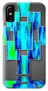 Abstract Ocean Tiles IPhone Case