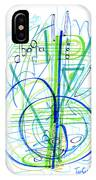 Abstract Pen Drawing Fifty-eight IPhone Case