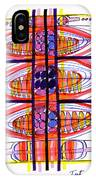 Abstract Pen Drawing Fifty IPhone Case