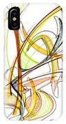 Abstract Pen Drawing Fifty-nine IPhone Case