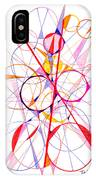 Abstract Pen Drawing Fifty-one IPhone Case