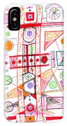 Abstract Pen Drawing Fifty-two IPhone Case
