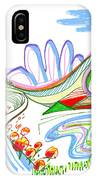 Abstract Pen Drawing Forty-four IPhone Case
