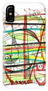 Abstract Pen Drawing Forty-seven IPhone Case
