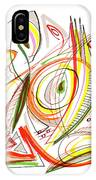 Abstract Pen Drawing Forty-six IPhone Case