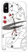 Abstract Pen Drawing Seventy-eight IPhone Case