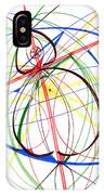 Abstract Pen Drawing Seventy-four IPhone Case