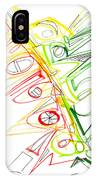 Abstract Pen Drawing Seventy-one IPhone Case