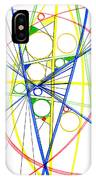 Abstract Pen Drawing Seventy-three IPhone Case