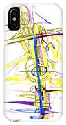 Abstract Pen Drawing Seventy-two IPhone Case