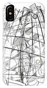 Abstract Pen Drawing Sixty-eight IPhone Case