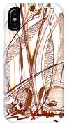 Abstract Pen Drawing Sixty-four IPhone Case
