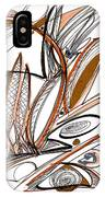 Abstract Pen Drawing Sixty-six IPhone Case