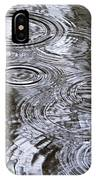 Abstract Raindrops IPhone Case