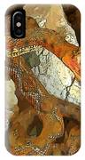 Abstract Rattlesnake IPhone Case