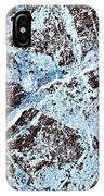 Abstract Scribble Pattern On Stone IPhone Case