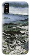 Abstract Seascape Morro Bay California IPhone Case