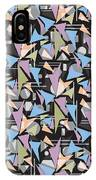 Abstract Shapes Collage IPhone Case
